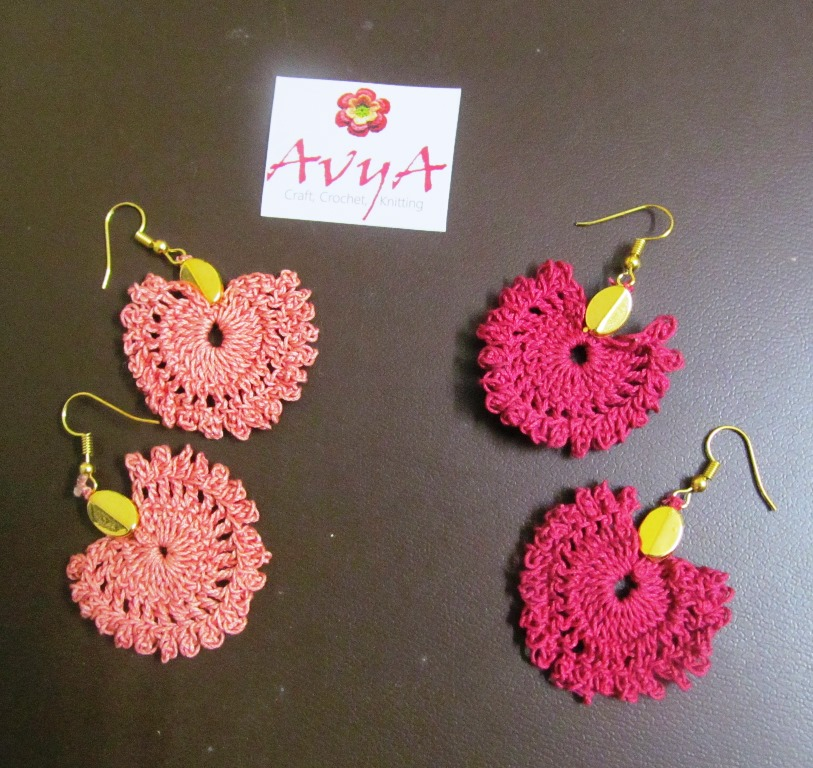 The Lace Earring Free Pattern