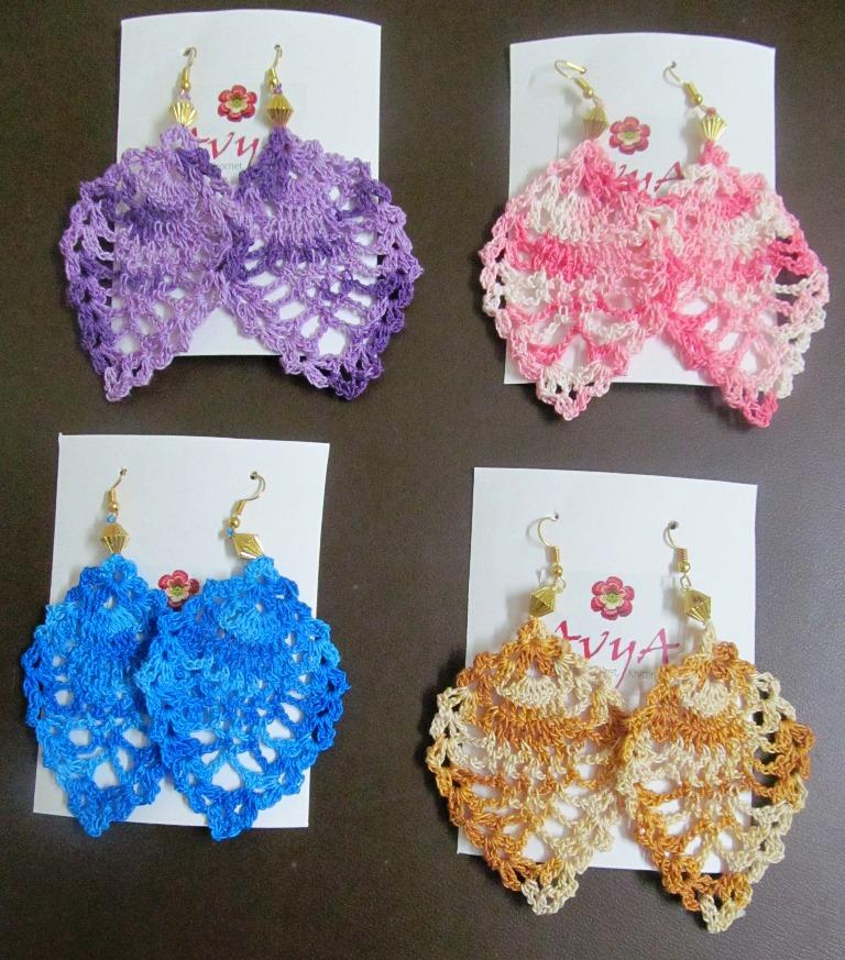 Free Pattern Elegant Motif Earrings