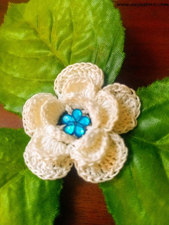 Avyastore- Five Petal Irish Rose Flower