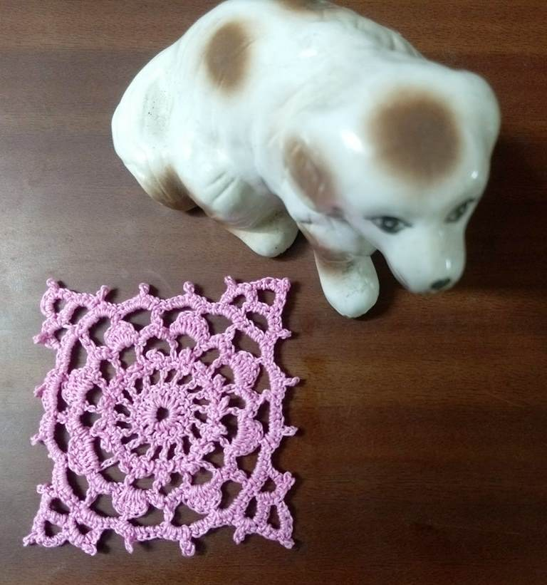 Lacey Thread Crochet Motifs No. 1