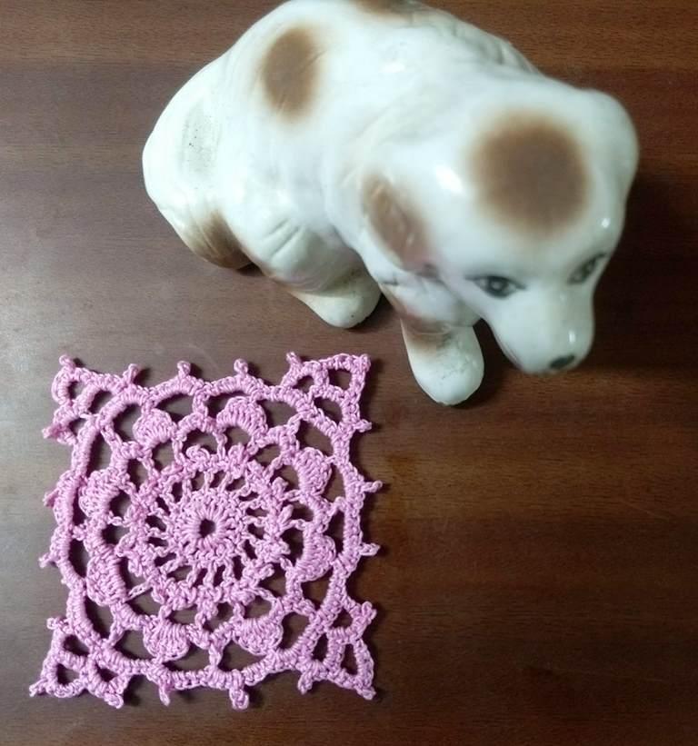 Lacey Thread Crochet Motifs No 1
