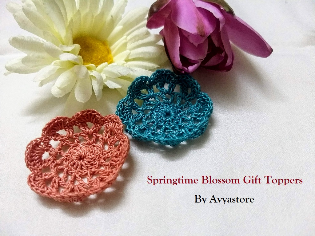 Springtime Blossom Gift Toppers