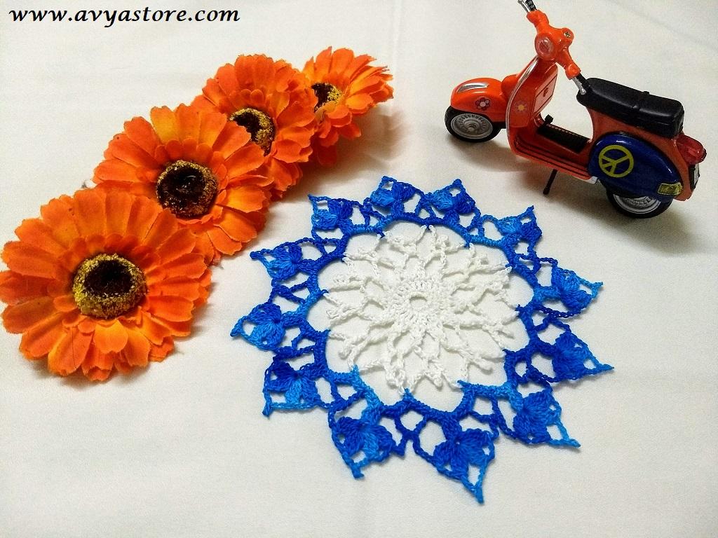 Avyastore-Floral Lace Mini Doily