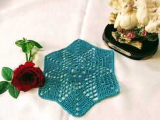 Floral Granny Hexagon Motif_Avyastore