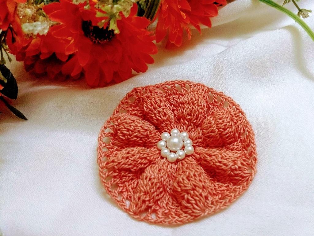 Poinsettia Flower Motif_Avyastore