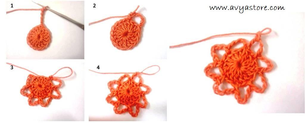 Crochet Spiral Motif (3)
