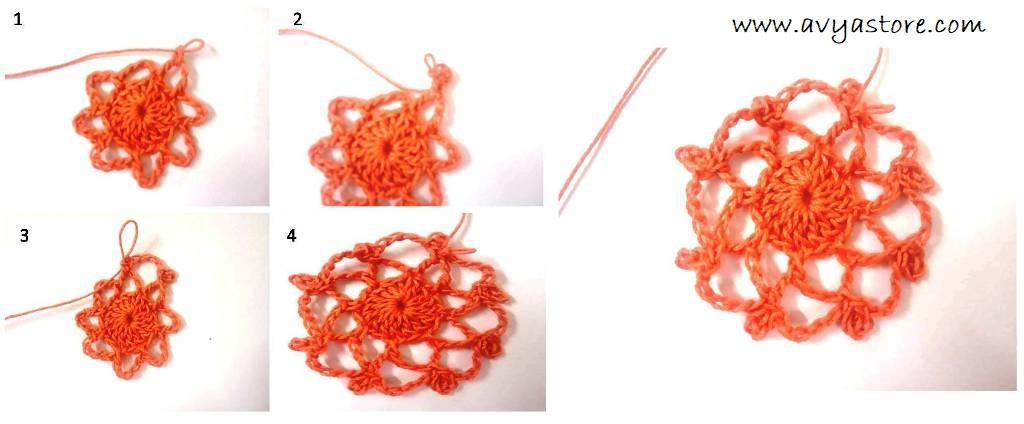 Crochet Spiral Motif (4)