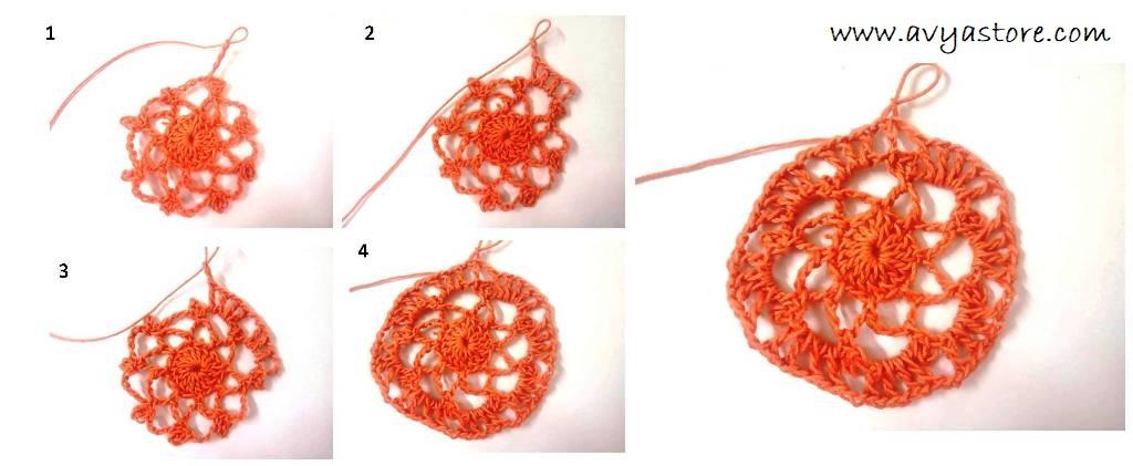 Crochet Spiral Motif (5)