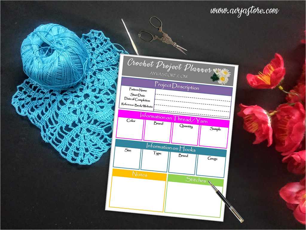 Crochet Project Planner – Why do you need it