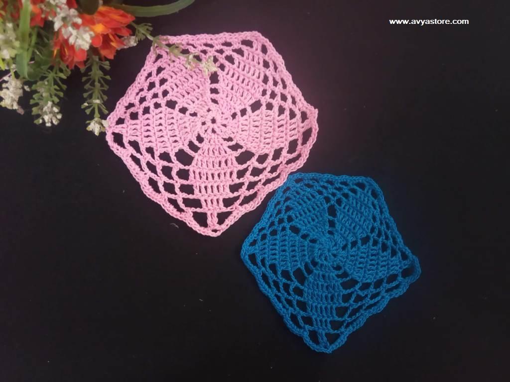Pentagon Crochet Motif_Avya (1)