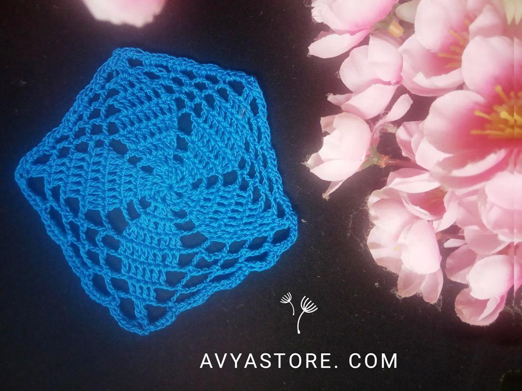 Pentagon Crochet Motif_Avya (2)
