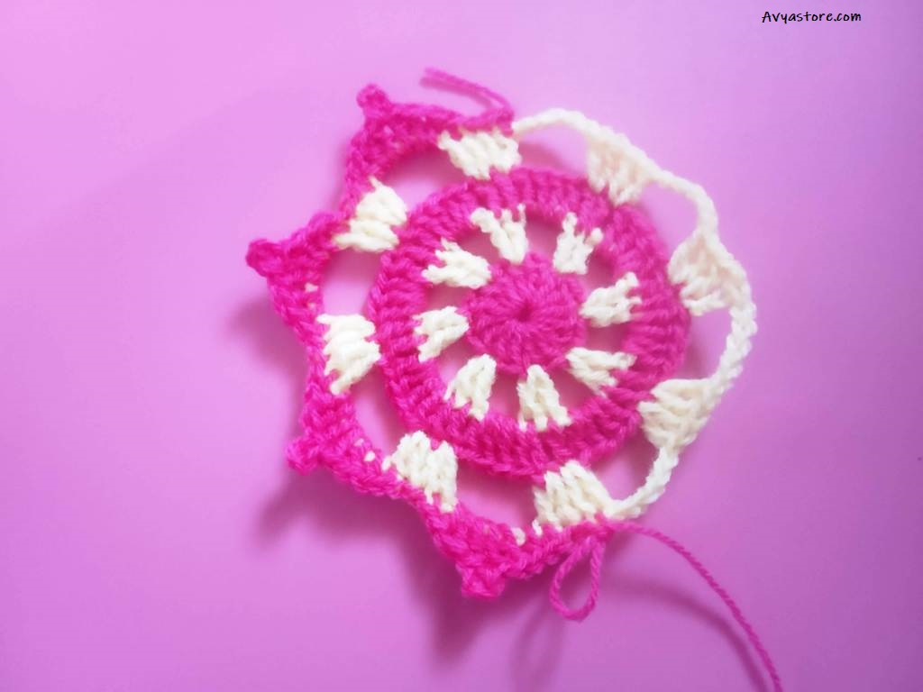 Crochet Tea Coaster – Free Pattern and Instructions_28.11 (15)