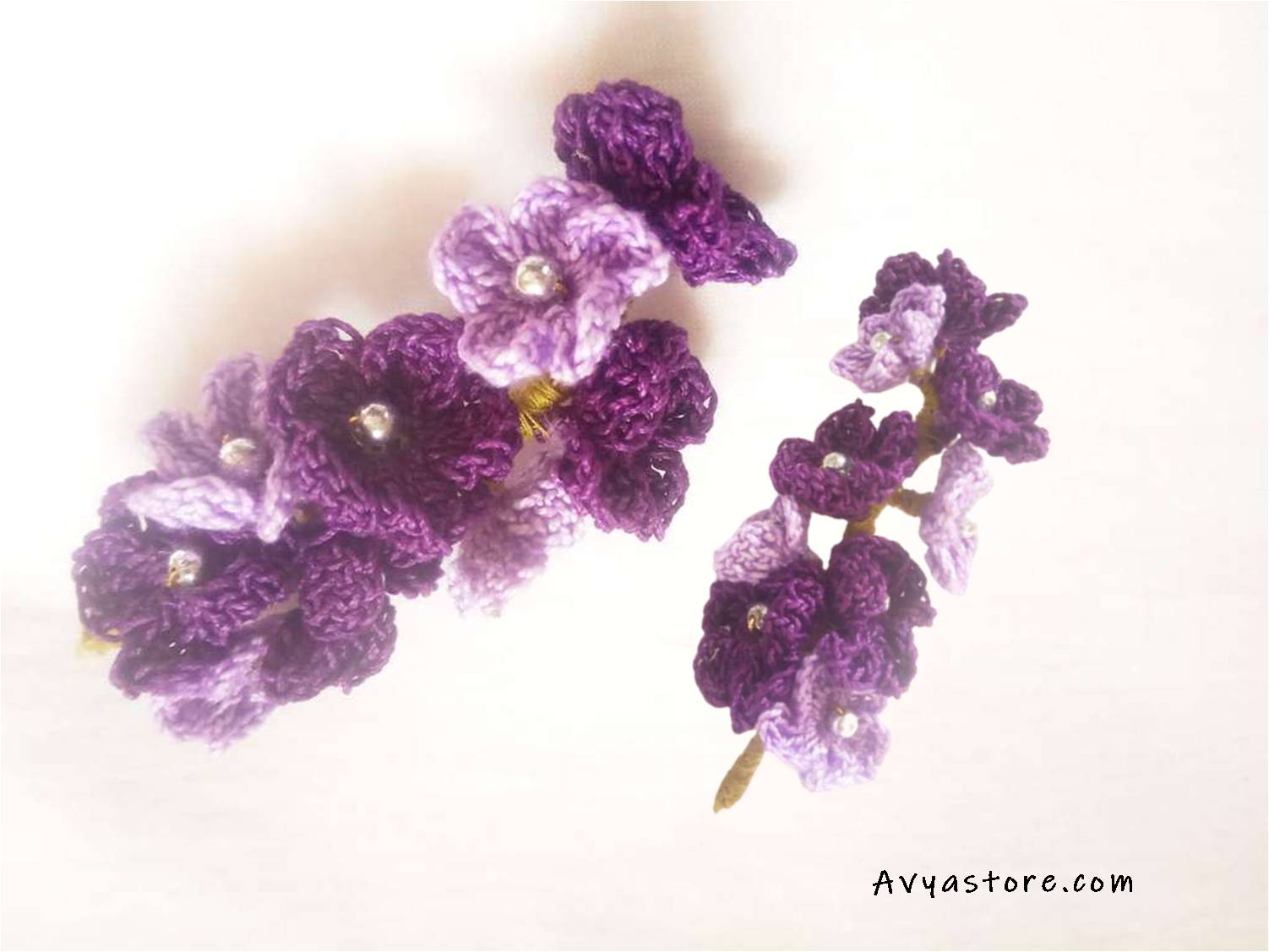 Avyastore_How to Crochet Verbena Flowers – Free Tutorial