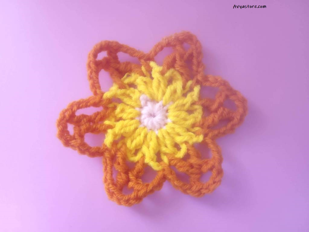 How to Crochet a Granny Square with Acacia flowers – Free Pattern_29.11 (10)
