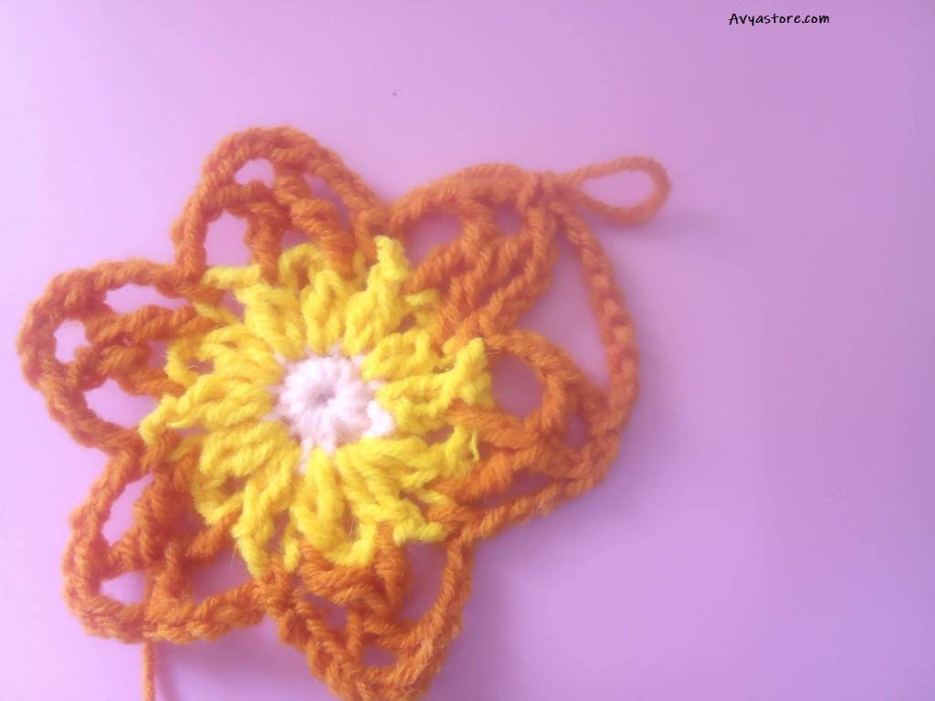 How to Crochet a Granny Square with Acacia flowers – Free Pattern_29.11 (11)