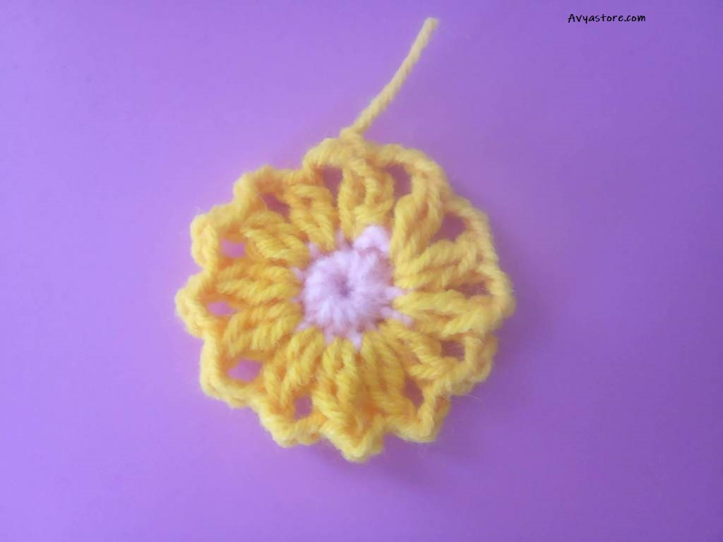 How to Crochet a Granny Square with Acacia flowers – Free Pattern_29.11 (7)
