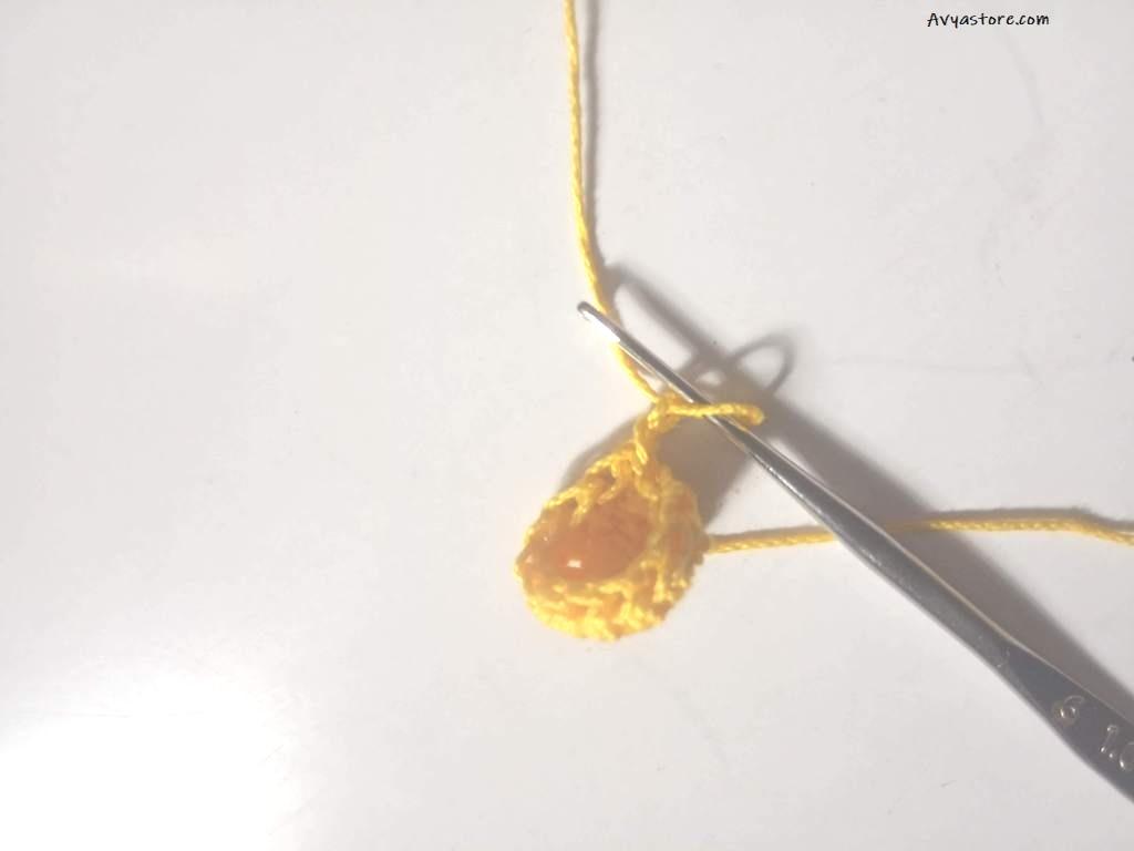 How to crochet Yellow Bellflowers – Free Pattern_Avya_20112020 (9)