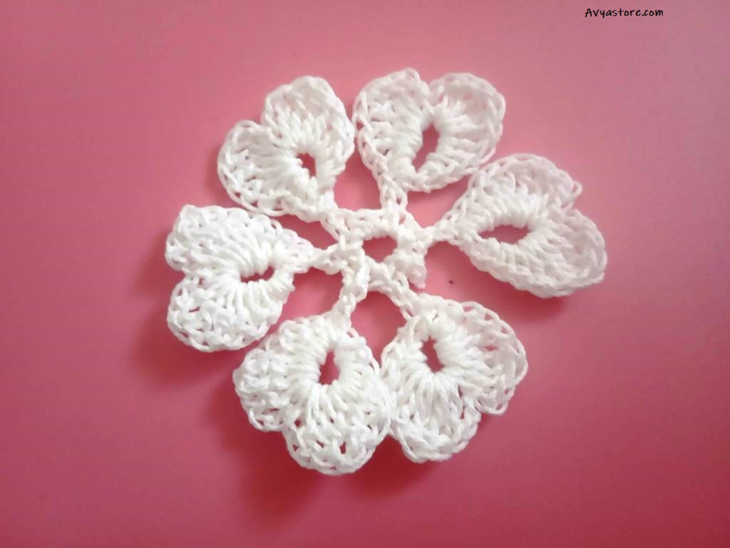 How to make five easy crochet snowflakes – Free Patterns_Avyastore27112020 (9)