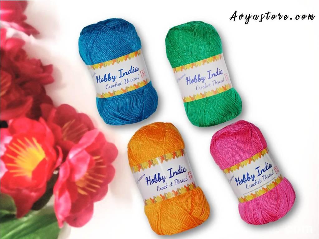 Yarn Review - Hobby India Crochet Thread