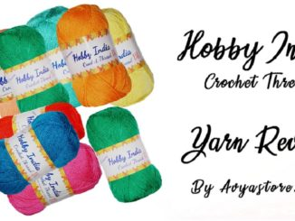 Yarn Review - Hobby India Crochet Thread