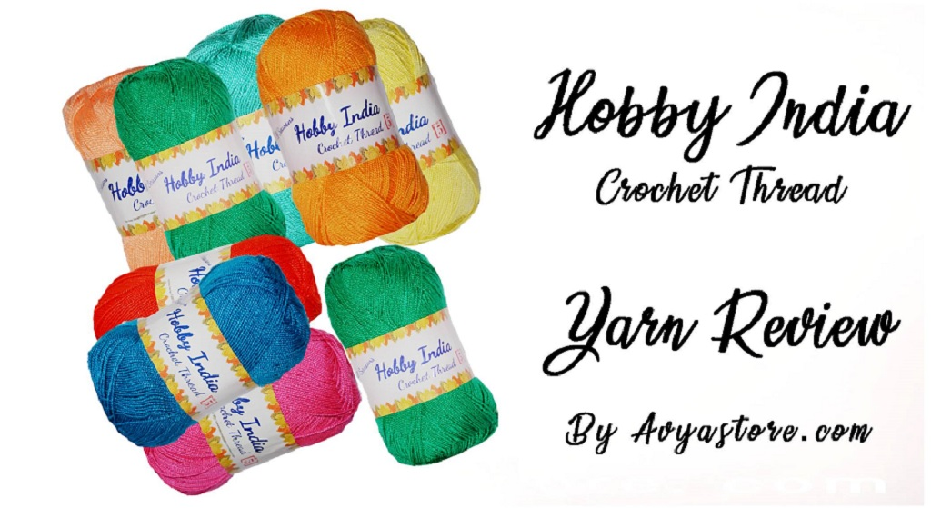 Yarn Review – Hobby India Crochet Thread (2)