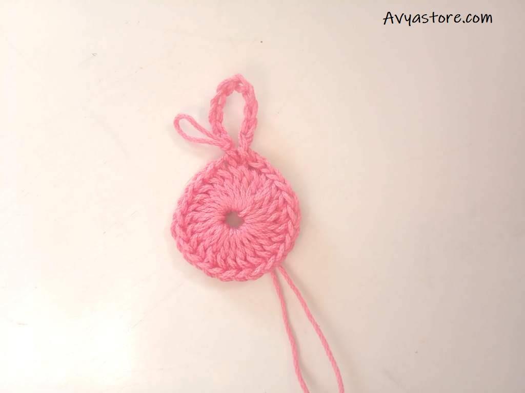 Crochet Flower Brooch -Free Pattern (6)