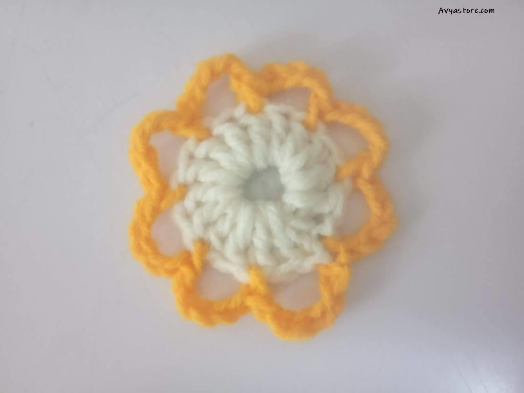 Crochet Flower Motifs Pattern -1 (1)
