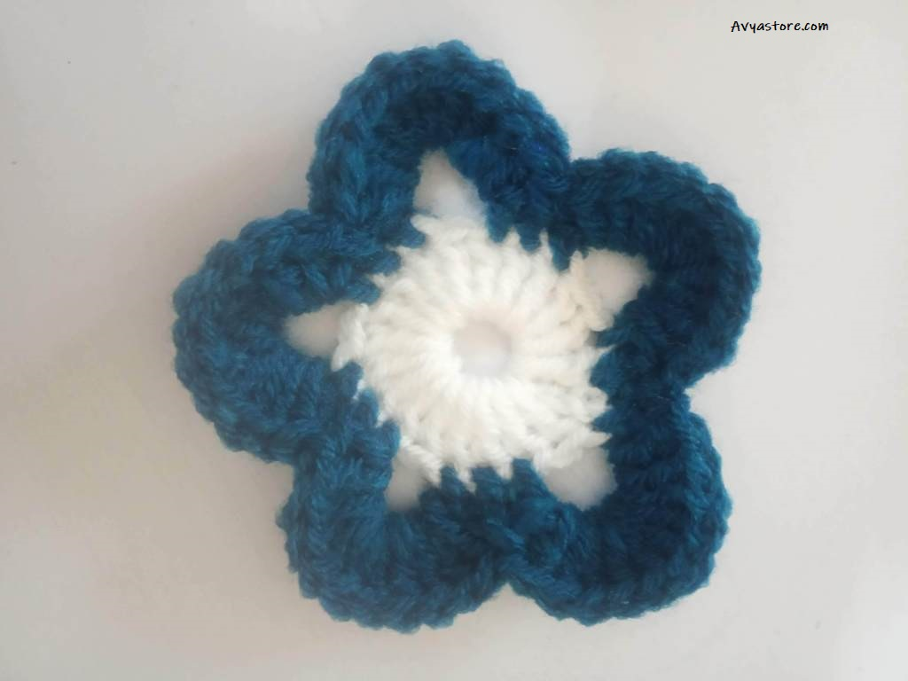 Crochet Flower Motifs Pattern -3 (1)