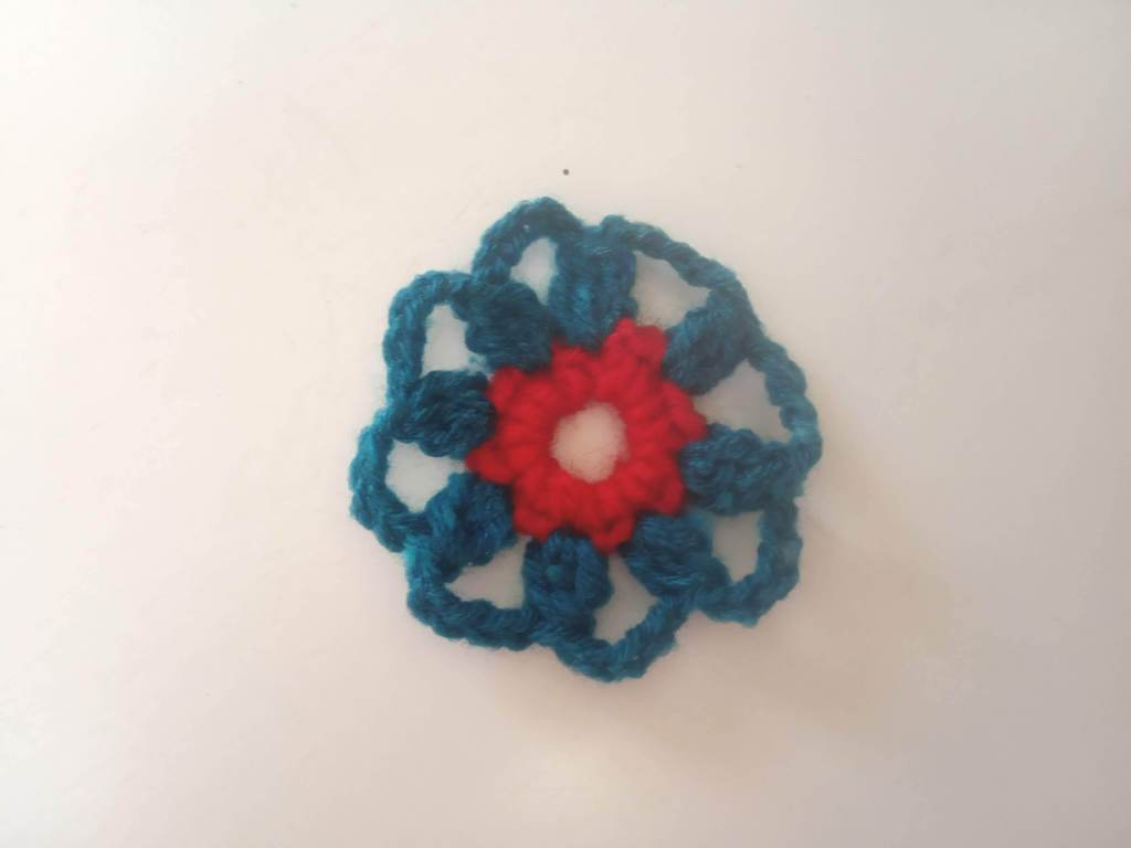 How to Crochet Tricolor Placemat – Free Pattern (5)