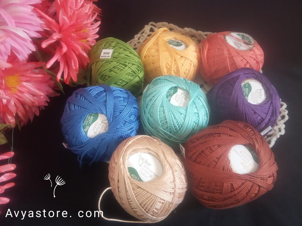 Yarn Review – Anchor Mercerised Knitting Cotton (1)