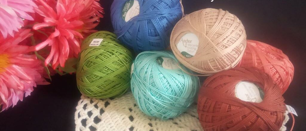 Yarn Review - Anchor Mercerised Knitting Cotton