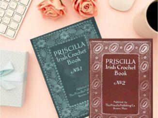 Crochet Book Review - Priscilla Irish Crochet Book 1 & 2