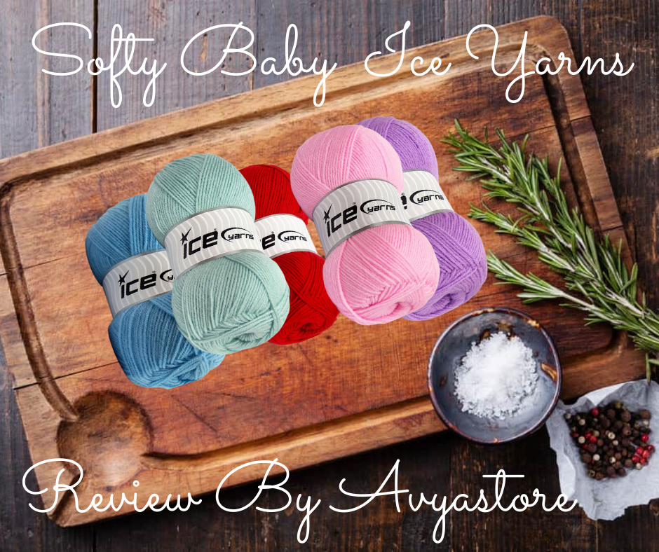 Softy Baby Ice Yarns - Review